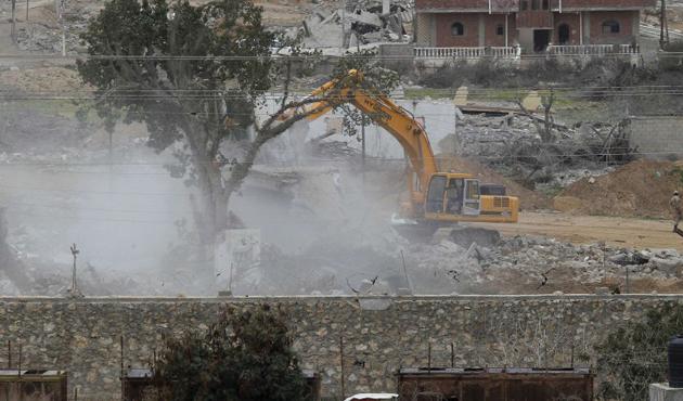 Mısır, Kuzey Sina'da 4 tünel yıktı