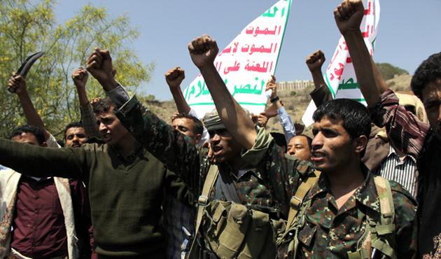 Yemen'de bir bölge Husilerden geri alındı
