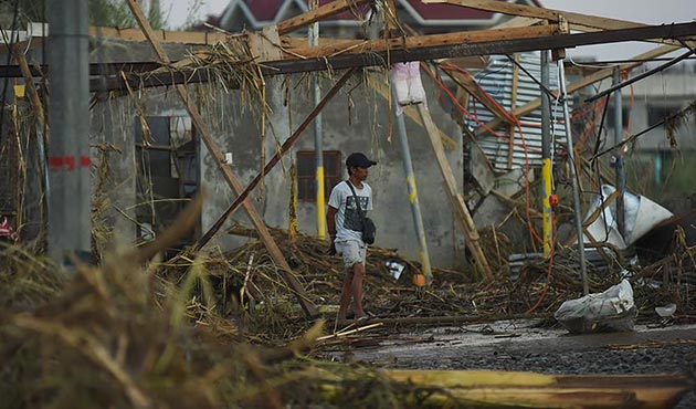 Filipinler'deki Tembin tayfununda 8 kişi öldü