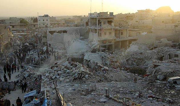 SNHR, Halep'teki 'pazar katliamından' Rusya'yı sorumlu tuttu