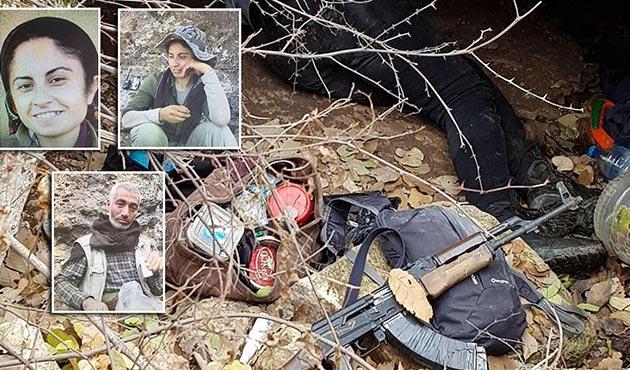 Gri listedeki PKK'lının ifadesiyle sığınaklar ortaya çıkarıldı