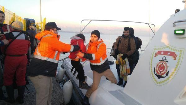 Çanakkale'de 83 yabancı uyruklu yakalandı