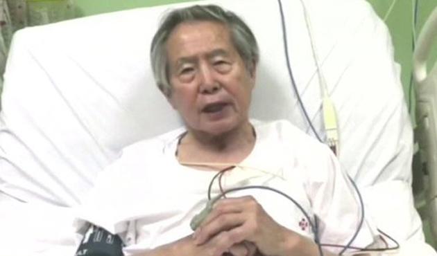 Peru'da affedilen eski Devlet Başkanı Fujimori halktan özür diledi