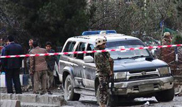 Afganistan'da intihar saldırısı: 15 yaralı