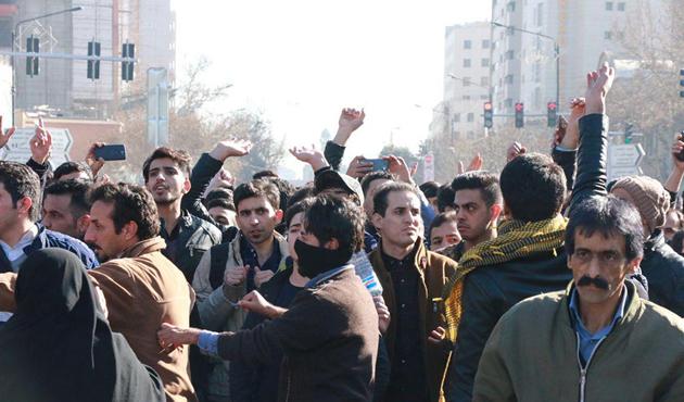 Trump, İran'daki gösterileri destekliyor