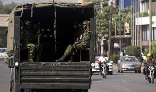 Kenya ordusundan Eş-Şebab'a operasyon