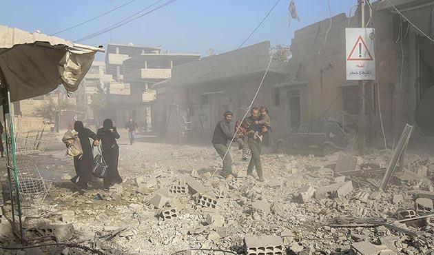 Suriye'de 10 binden fazla sivil katledildi