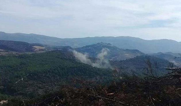 Yayladağı kırsalına Suriye'den atılan 2 top mermisi düştü