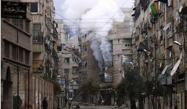 Suriye'de Şam yakınlarında çatışmalar yoğunlaştı