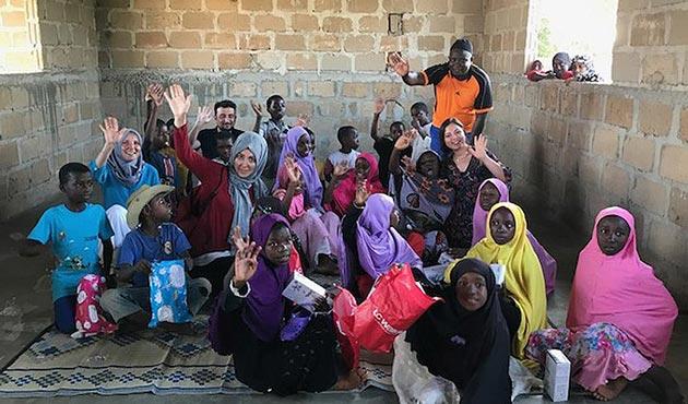 Afrikalı yetimler için gönüllüler aranıyor