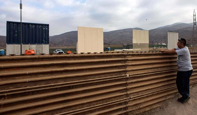 Trump, Meksika duvarı için para istedi