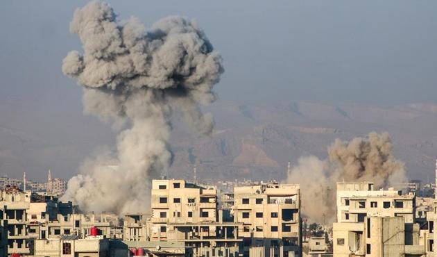 Doğu Guta'da son 10 günde en az 85 sivil öldürüldü