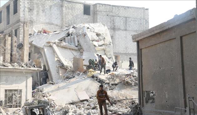 Esad-Rusya ittifakı Doğu Guta'da 329 sivili öldürdü