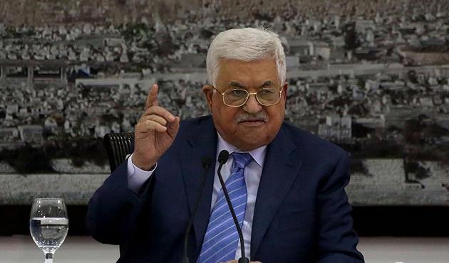 Filistin Devlet Başkanı Mahmud Abbas: İsrail Oslo'yu bitirdi