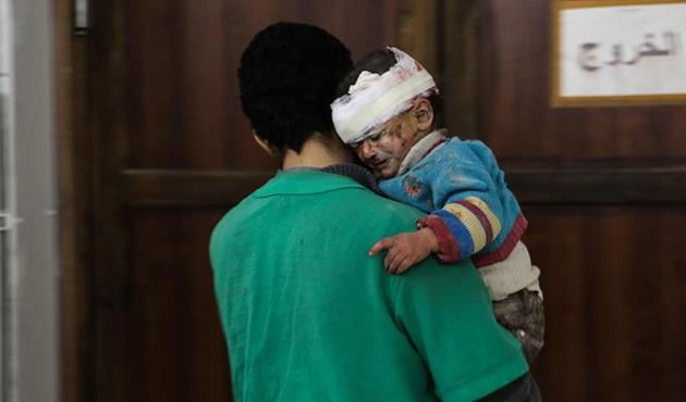 Doğu Guta'da 14 günde 30'dan fazla çocuk öldürüldü