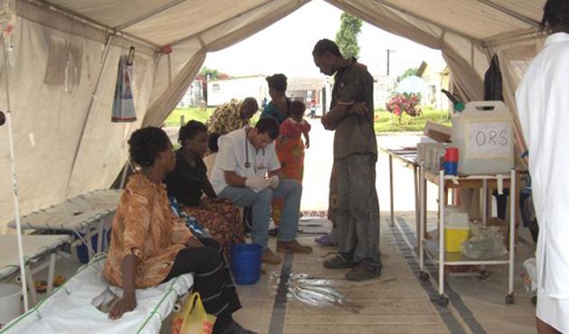 Zambiyalılara koleraya karşı oruç ve dua çağrısı