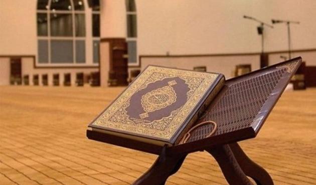 Özbekistan'da hafızlar Kur'an okuma yarışında