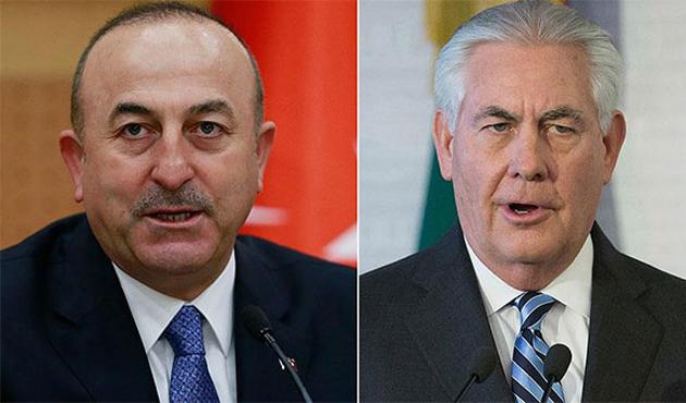 Çavuşoğlu ABD Dışişleri Bakanı Tillerson ile görüşecek