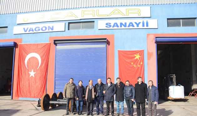 Türk-Çin ortaklığıyla lokomotif üretilecek