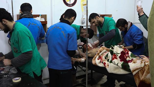 Rusya'nın Doğu Guta'dan 700 hastanın tahliye edildiği iddiasına yalanlama