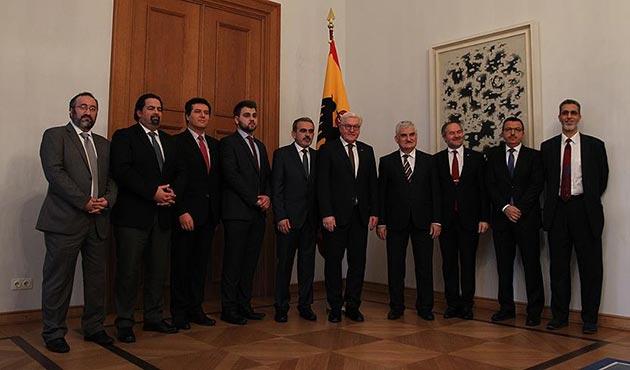 Steinmeier Müslüman dernek temsilcilerini kabul etti