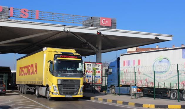 Bulgaristan sınır kapısında 6 km kuyruk