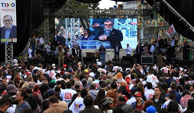 Kolombiya'da FARC'ın seçim çalışmaları başladı
