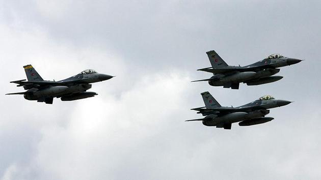 Kandil ve Asos'ta saldırı hazırlığındaki PKK'lılara hava harekatı