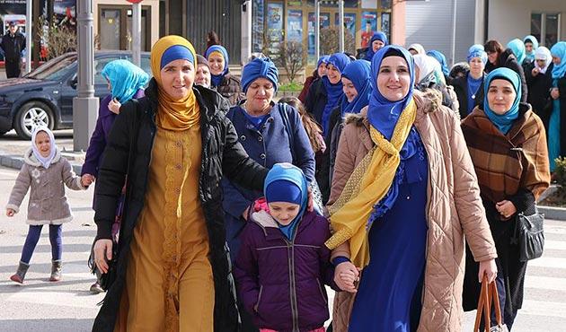 Bosna Hersek'te 'Dünya Başörtüsü Günü' etkinliği