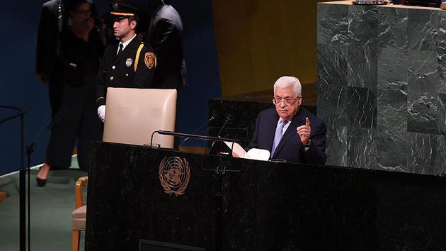 Filistin Devlet Başkanı Abbas BMGK'ye hitap edecek