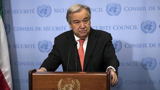 Guterres'den Suriye'de itidal çağrısı
