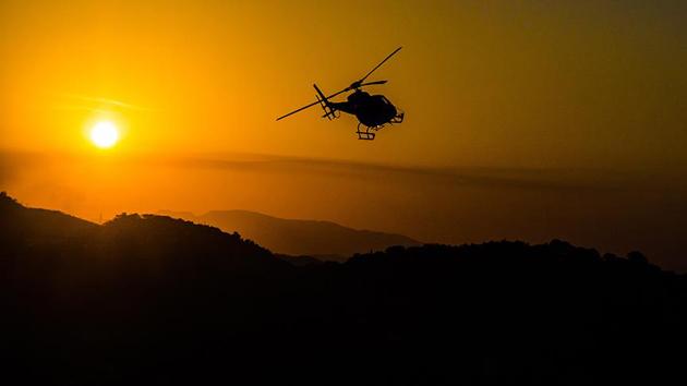 ABD askerlerini taşıyan helikopter düştü