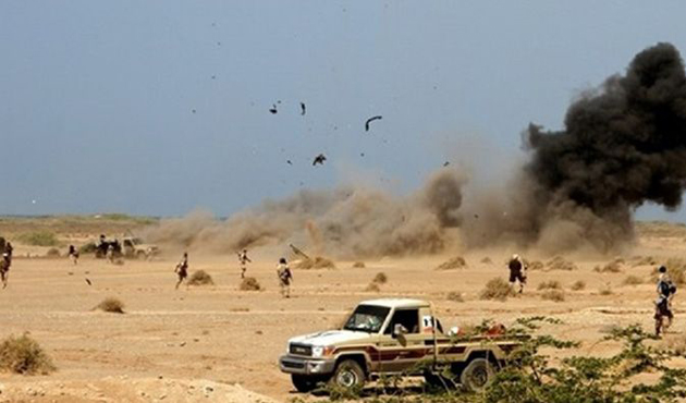 Yemen'de Husi mevzilerine saldırı
