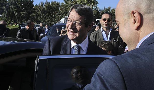 Kıbrıslı Rumların lideri bir kez daha Anastasiadis