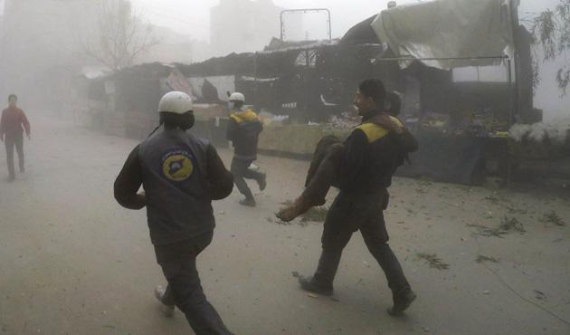 Doğu Guta'da 30 sivil daha öldürüldü