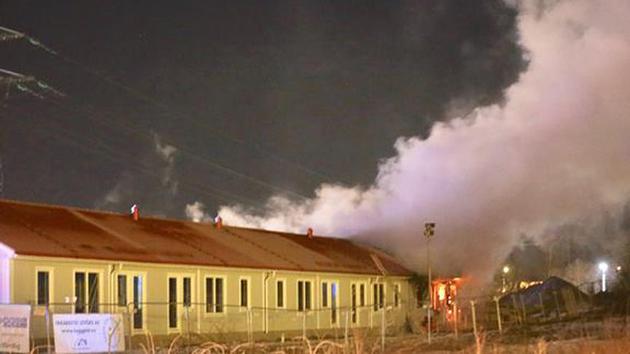 İsveç'te sığınmacıların taşınacağı binalarda şüpheli yangın
