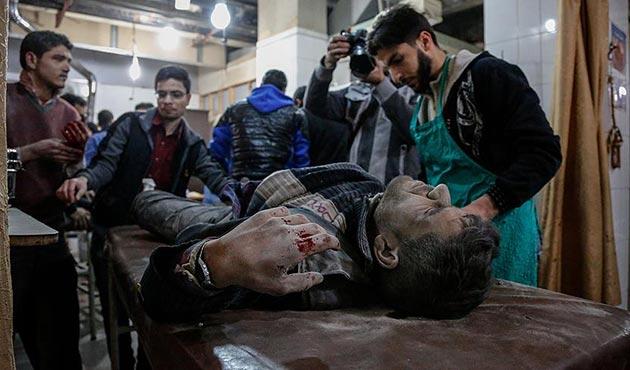 Esad rejimi Doğu Guta'da sivilleri vurdu: 51 ölü