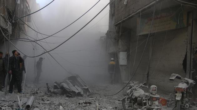 AB'den Doğu Guta'da saldırıların durdurulması çağrısı