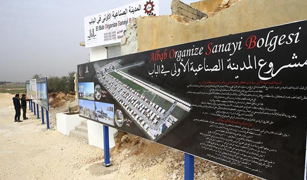 Bab'da ilk organize sanayi bölgesinin temelleri atıldı