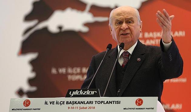 Bahçeli: Türk Tabipler Birliği diye bir kurum yok hükmündedir