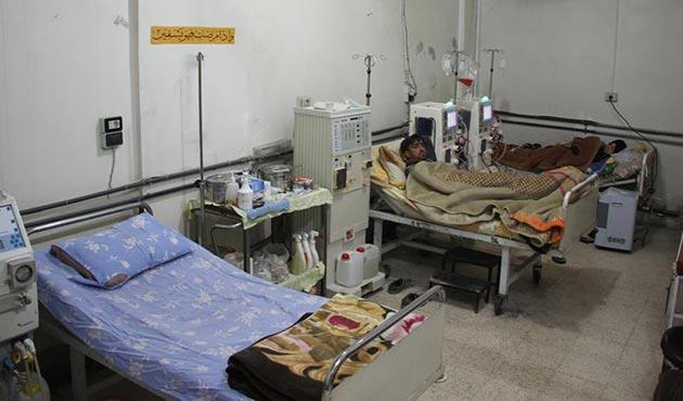 Esad rejiminden Doğu Guta'da ağır hastaların bile tahliyesine izin yok