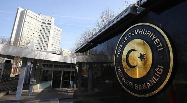 Dışişleri Bakanlığı'ndan AB raporuna tepki