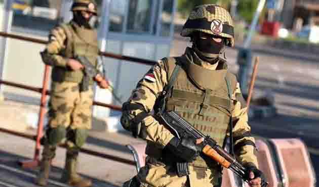Mısır ordusu Sina'da 60 hedefi imha etti
