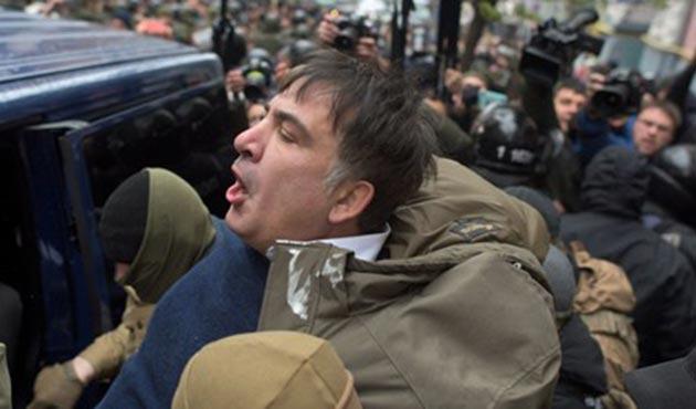 Ukrayna'da Saakaşvili yeniden gözaltında
