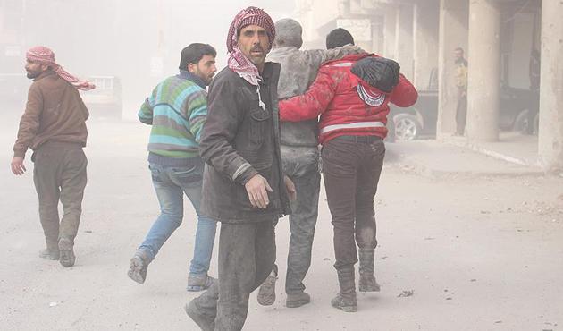 Suriyeli aktivistlerden 'Guta'yı Kurtarın' kampanyası