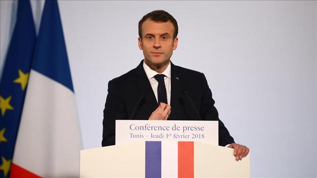 Macron'dan çok sert Suriye açıklaması