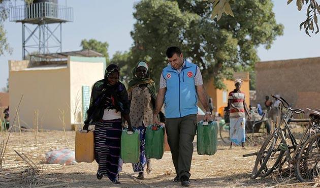 TDV'den Çad'a su istasyonu