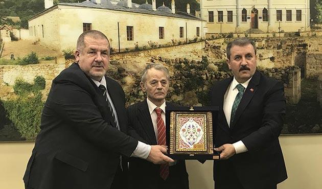 BBP'den Kırım Tatar Milli Meclisi'ne ziyaret