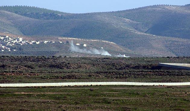 Afrin'e ilerlemeye çalışan Esed yanlısı gruplar geri çekildi