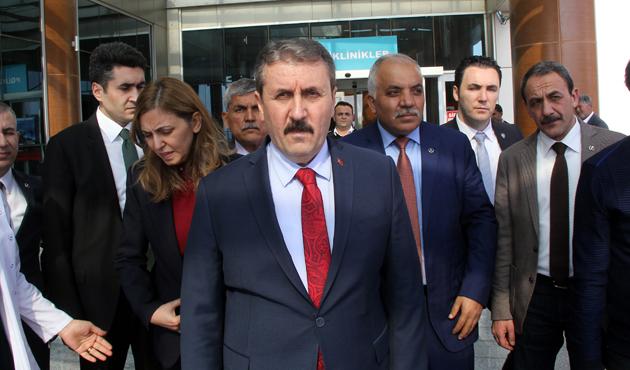 BBP Genel başkanı 'Cumhur İttifakı'nı savundu